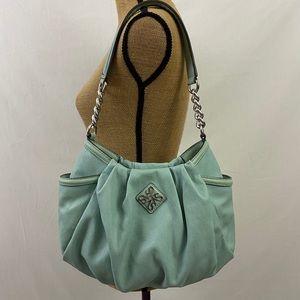 Simply Vera Wang pleated hobo bag